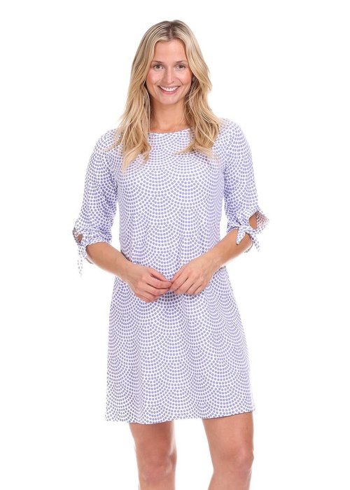 Duffield Lane Summit Tie Sleeve Dress