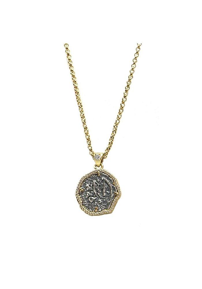 Tat2 Gold Mini Molat Necklace