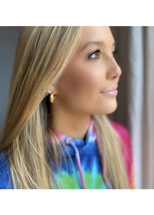 Dina Mackney Classic hoop earring
