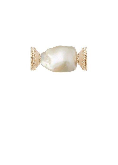 Clara Williams Clara Williams Freshwater White Baroque Pearl Centerpiece