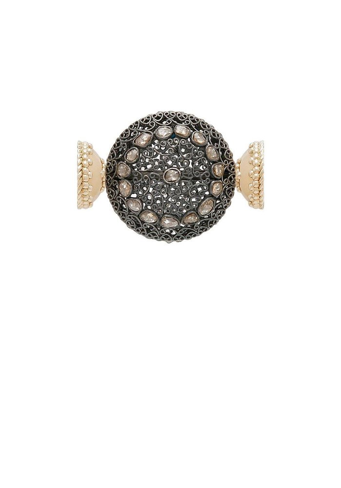 Clara Williams LTD Diamond and Turquoise SS Centerpiece