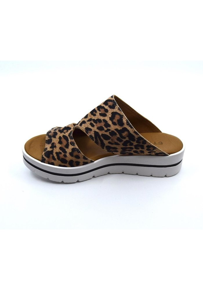 "Ethem Shoes ""London"" Open Back Elevated Sandal"