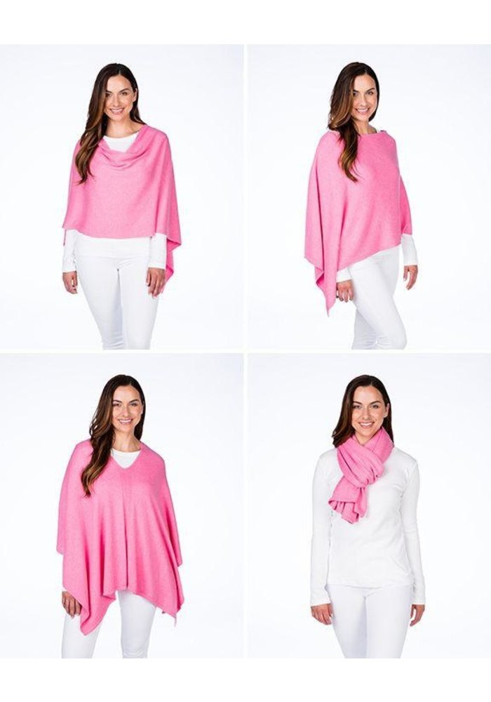 Alashan Trade Wind Cotton/Cashmere Dress Topper Poncho