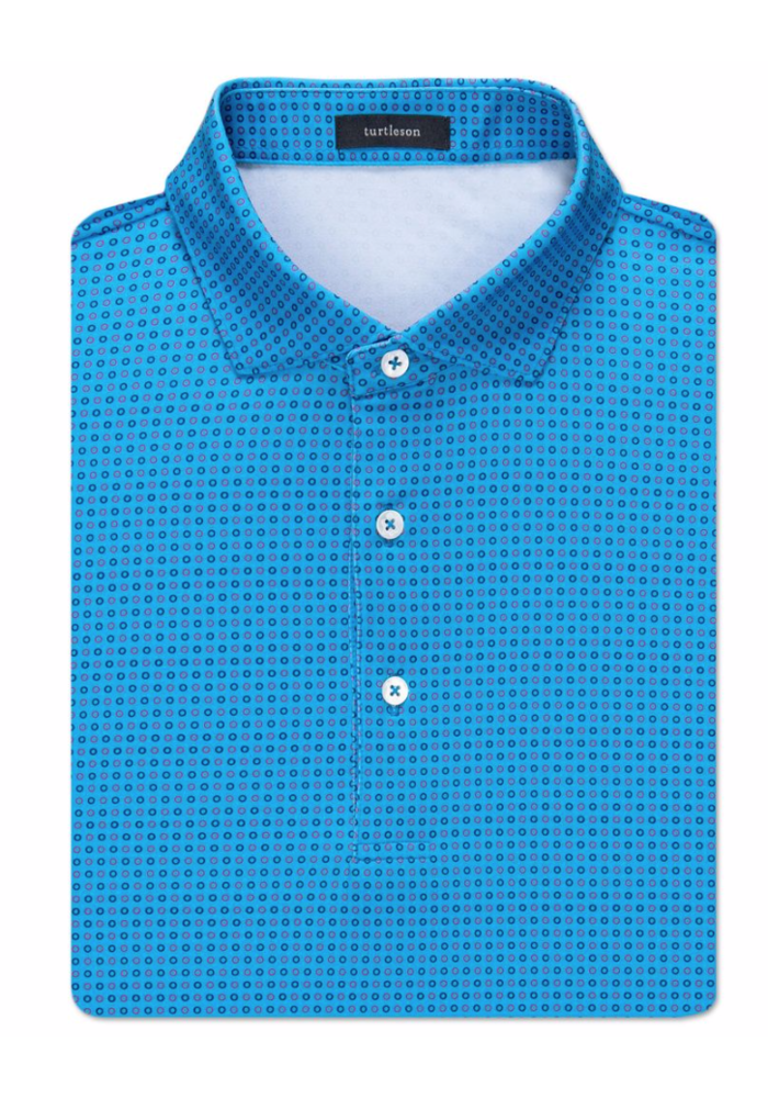 Gibson Circle Jacquart Performance Polo