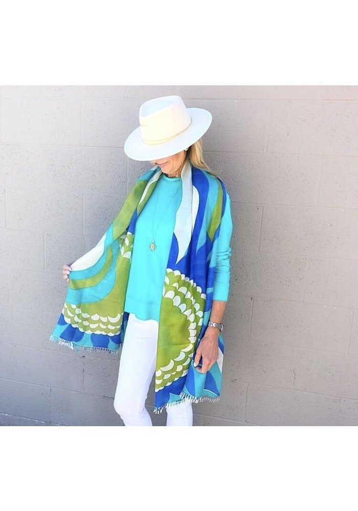 Cashmere Wrappings Mod Sunflower