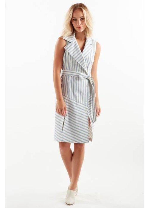 Fine Jewelry Finley Marni Dress in Ticking Stripe