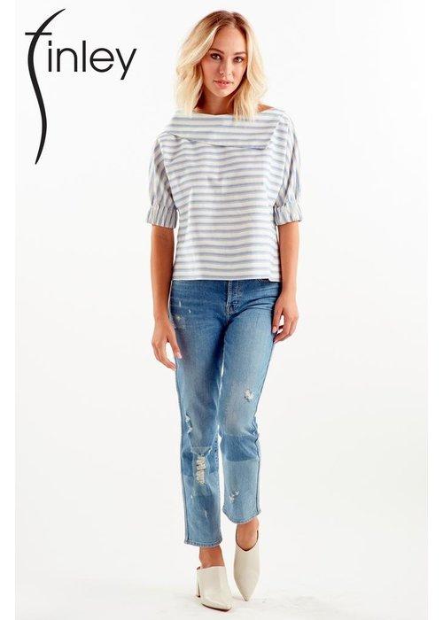 Finley Shirts Finley Shirts Ticking Stripe Skipper Shirt