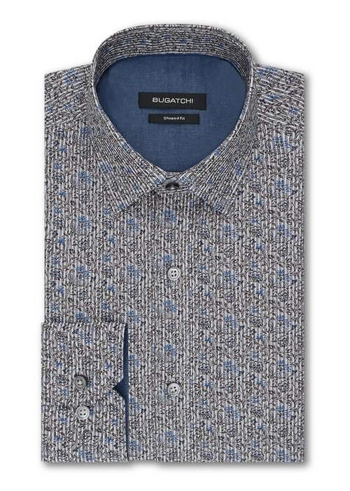 Bugatchi Classic fit 100% cotton, long sleeve shirt from Bugatchi