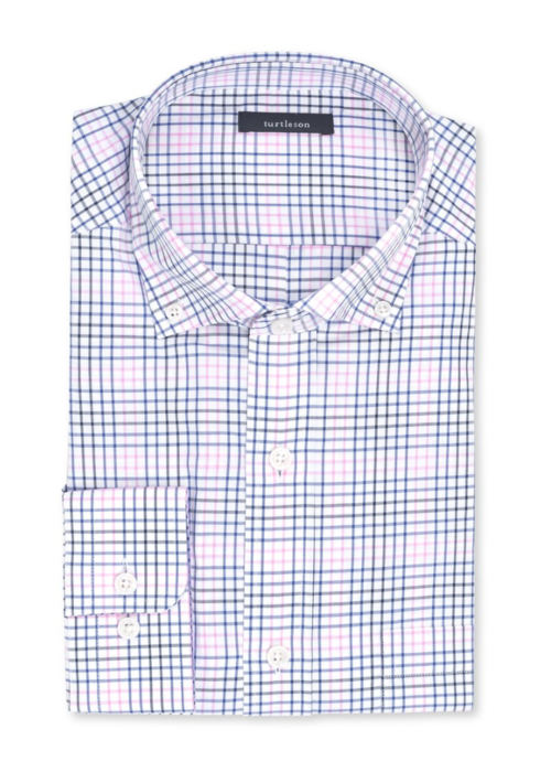Turtleson Macon Plaid Sport Shirt