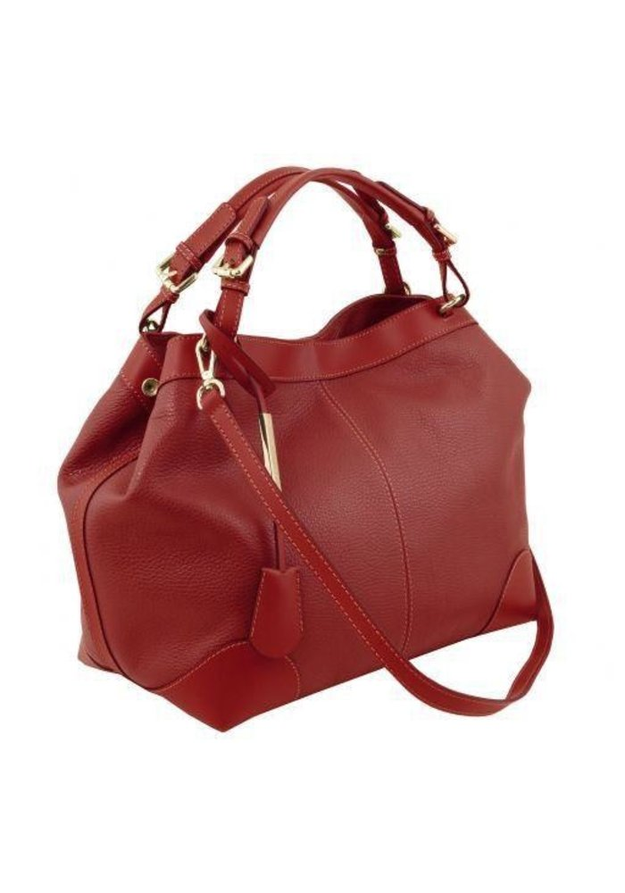 Tuscany Leather Soft Leather Bag with Shoulder Strap
