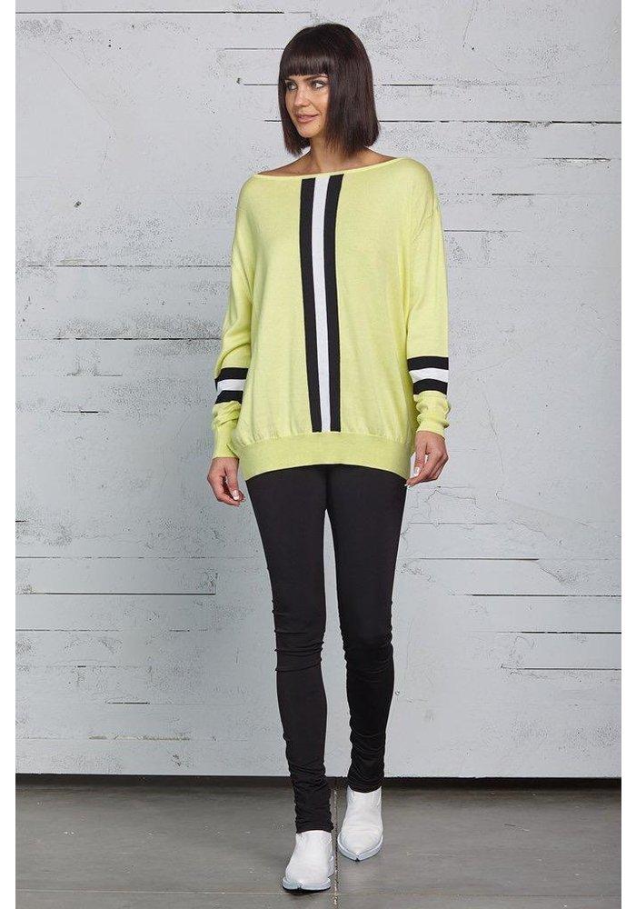 Planet Racer Stripe Sweater