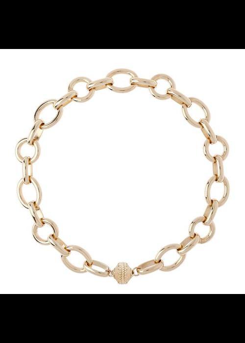 "Clara Williams Clara Williams Gold Coast 14K Plated Necklace 18"" Length"