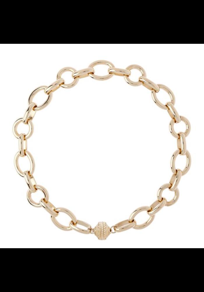 "Clara Williams Gold Coast 14K Plated Necklace 18"" Length"