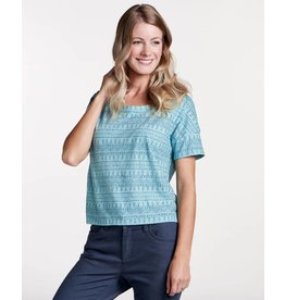 Toad & Co Tissue Crop SS Tee