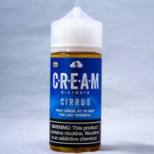 cream vapor Cirrus