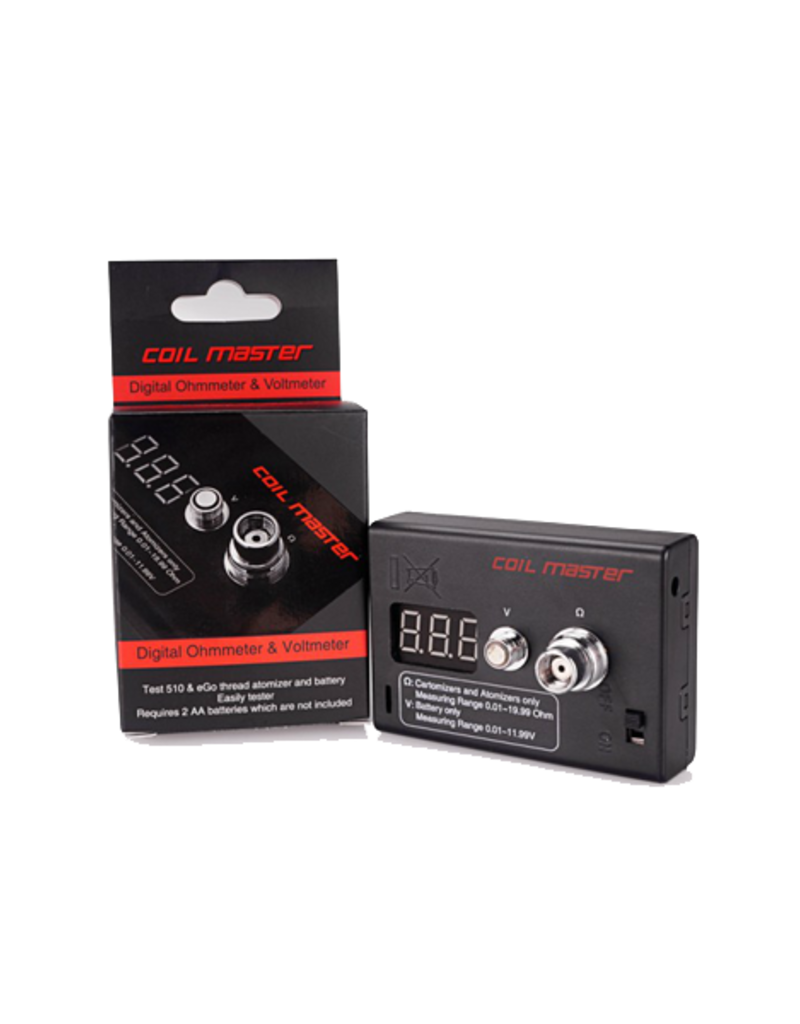Coil Master Coil Master Ohm meter and voltmeter