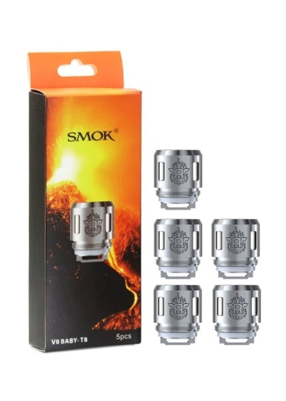 SMOK TFV8 BABY Beast coil T8 (.15) 5-Pack