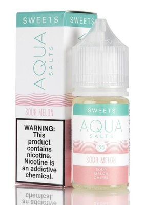 Aqua Aqua Salt - Sour Melon