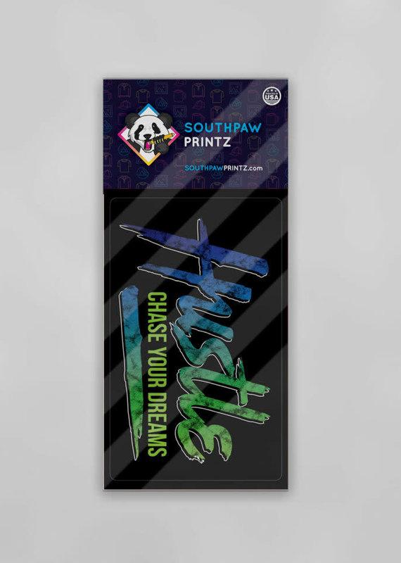 Southpaw Printz Sayings Sticker