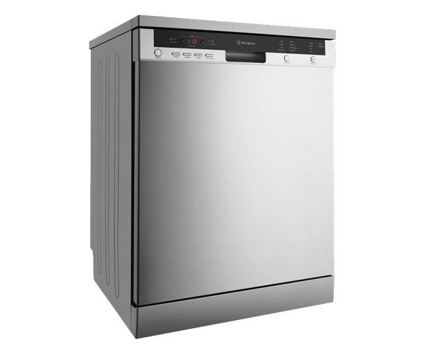Factory Second Westinghouse Dishwashers 15 Place Setting Dishwasher, Stainless Steel Finish, 4.5 Star WELS, 3. WSF6608X