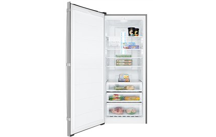 Factory Second Westinghouse 425L Stainless Steel Vertical Freezer WFB420SAX