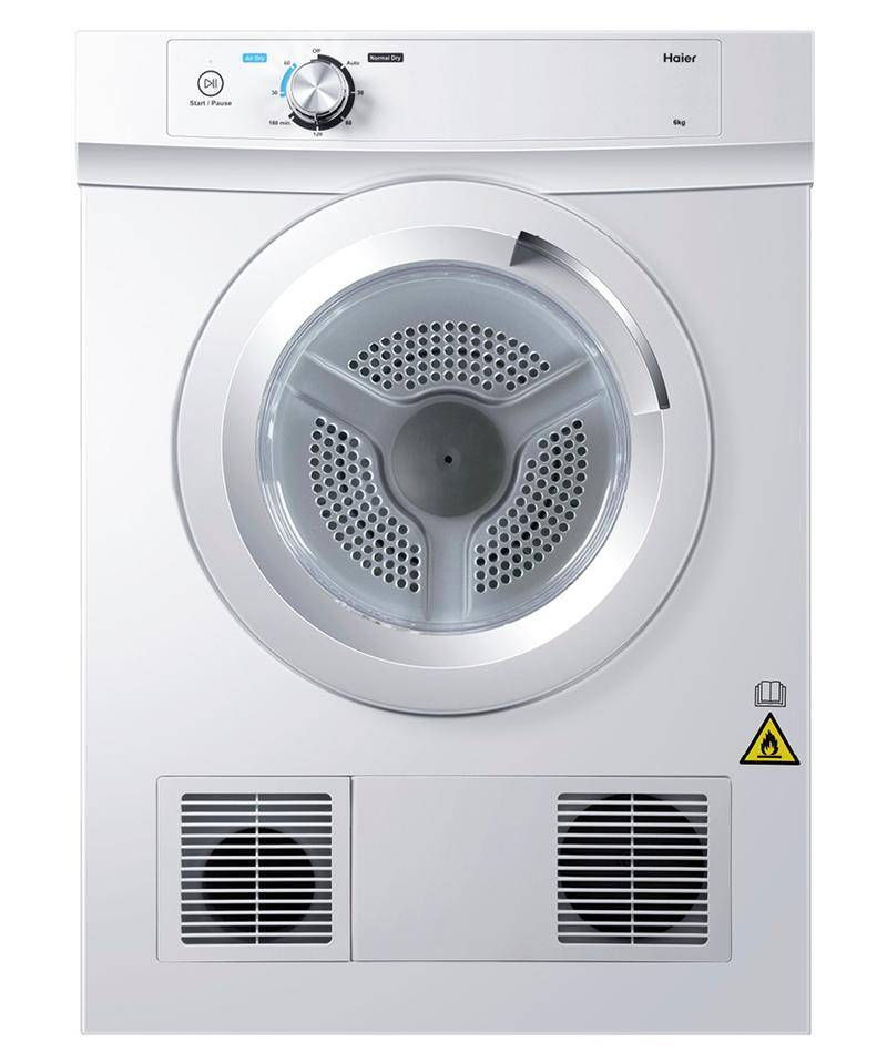 Haier Vented Dryers 6.0KG VENTED DRYER HDV60A1
