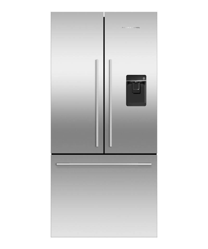 Factory Second Fisher and Paykel French Door Fridges 519lt French Door Refrigerator, Stainless Steel Finish, Adaptive Defro RF522ADUSX5