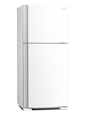Mitsubishi Top Mount Fridges 385 Litres White Top Freezer, Inverter MR385EKWA