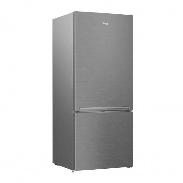 Beko Bottom Mount Fridge 445Litre Stainless
