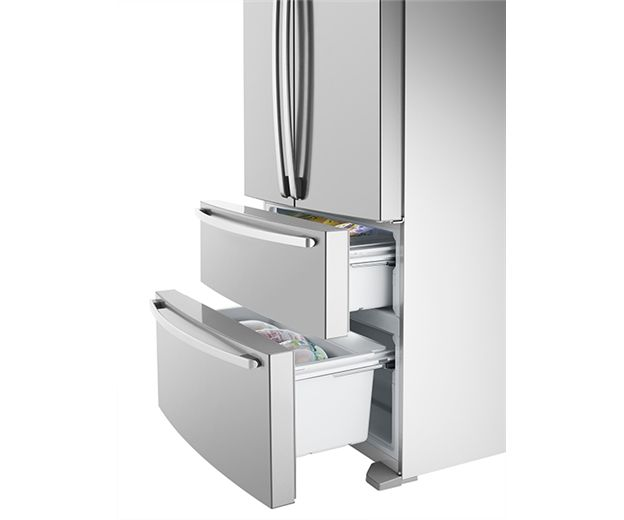 Factory Second Westinghouse French Door Fridges 620ltr French Door, stainless steel, freezer drawer WHE6200SA