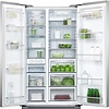 Factory Second Fisher and Paykel Side by Side Fridges 628L capacity - 385L fridge, 243L freezer Door alarm RX628DX1