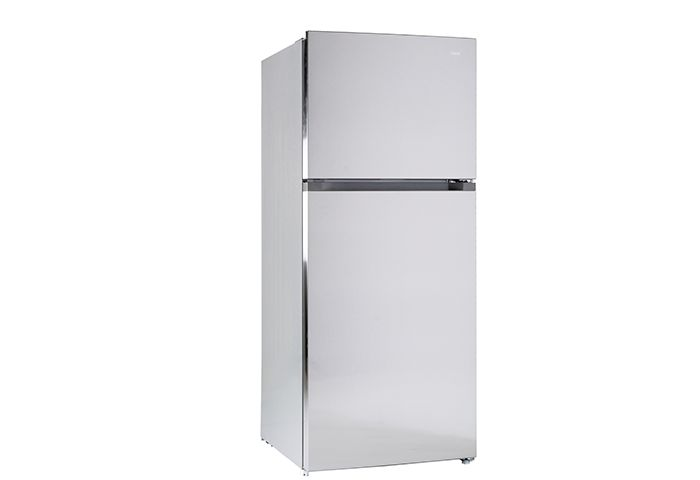 CHiQ Top Mount Fridge 435L Inverter Technology Stainless