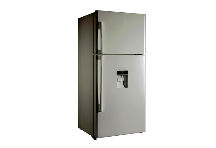 CHiQ Top Mount Fridges 520L Top Mounted Fridge with Water Dispenser(Silver) CTM520SD