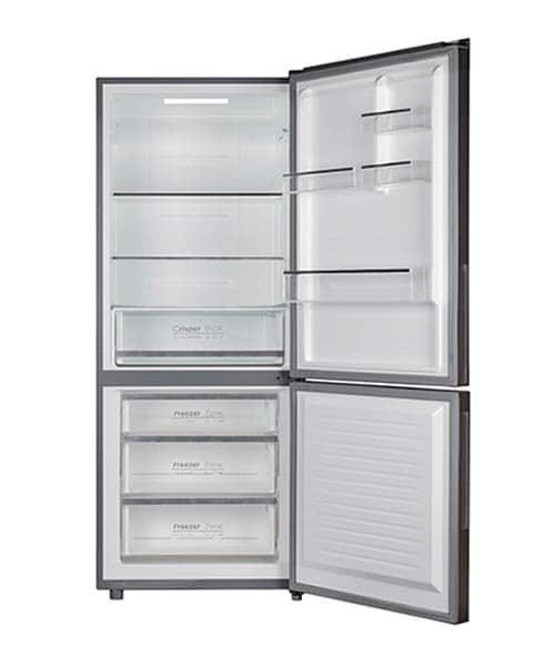 CHiQ Bottom Mount Black Fridge