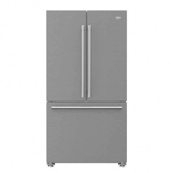 Factory Second Beko 629 L Stainless Steel French Door Fridge BFD629XFSA