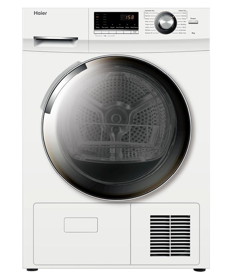 Haier Condenser Dryers 8Kg Sensor Drying Condenser Dryer (Factory Second)