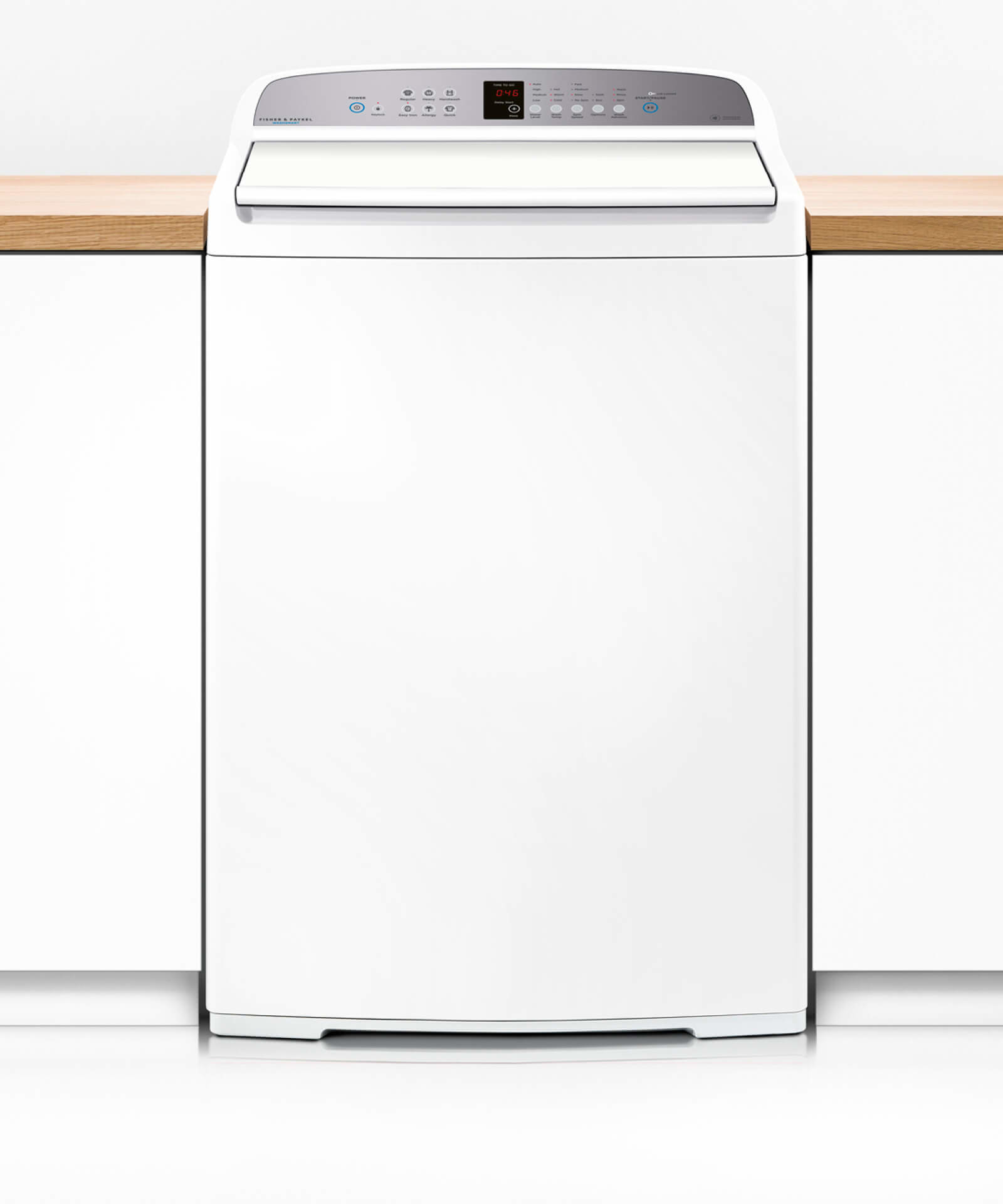 Factory Second Fisher and Paykel Top Load Washers 10kg 1100 RPM, 4 Star Energy Rating, 3.5 WEL WA1068G1FSB
