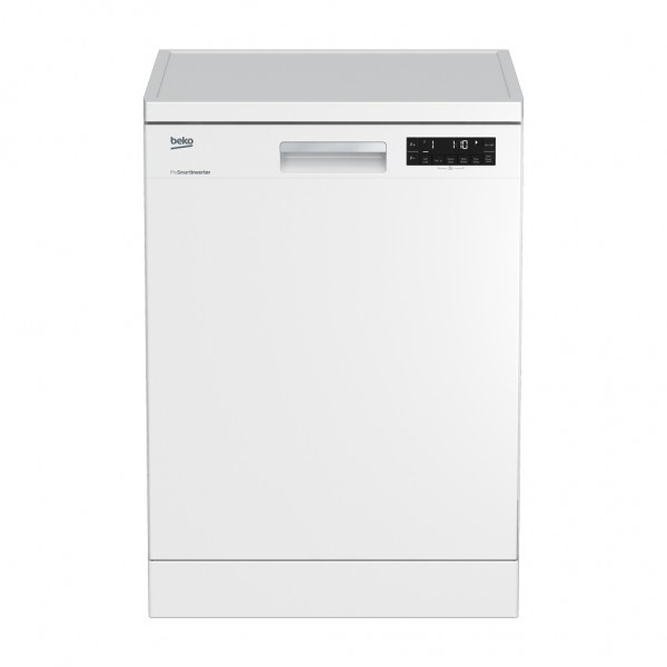 Factory Second Beko Dishwashers 60cm 14 Place Setting 5.5 Star WELS, 3 Star Energy DFN28430WFSA