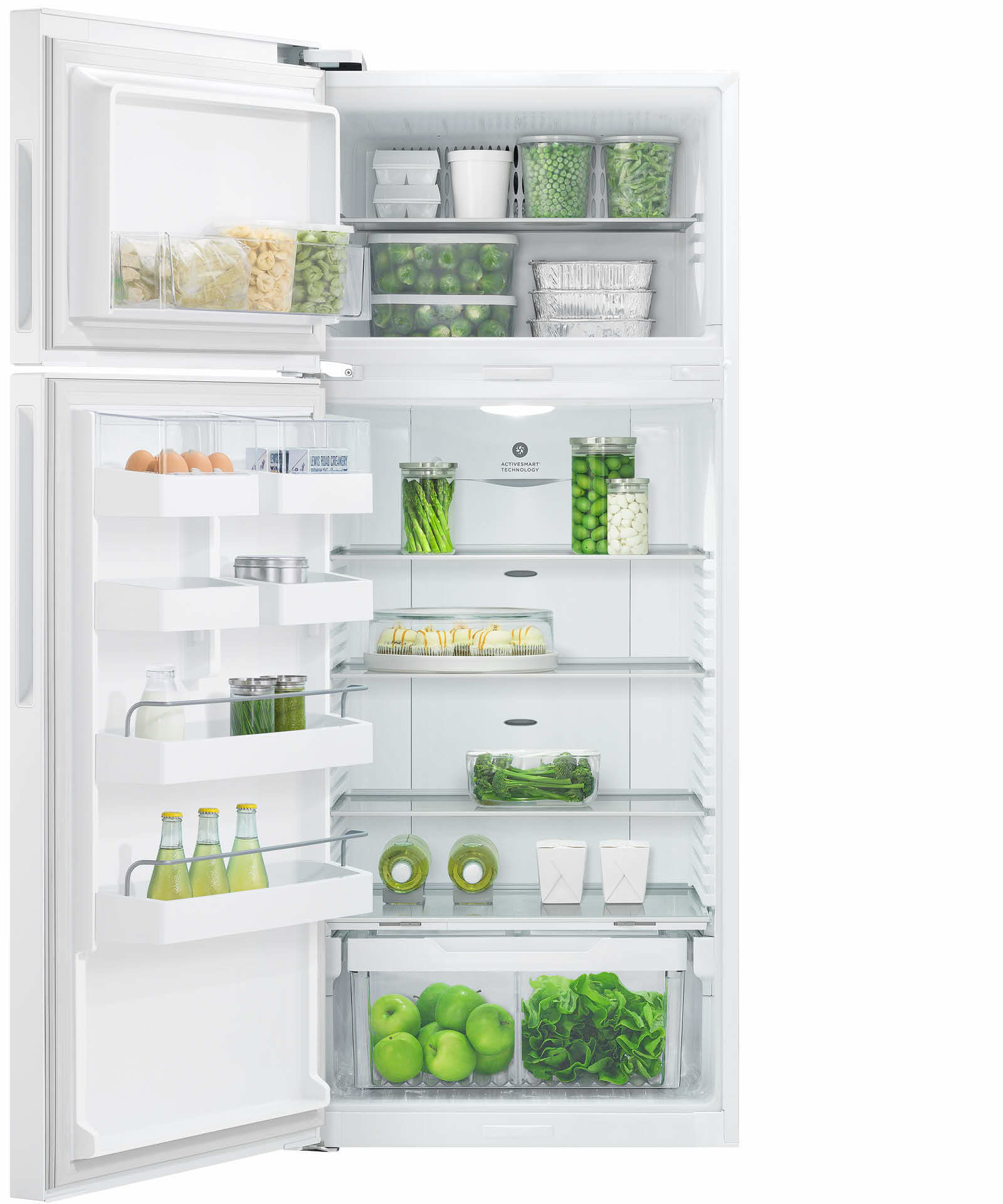 Fisher & Paykel 381 Ktr Fridge White (Factory Second)