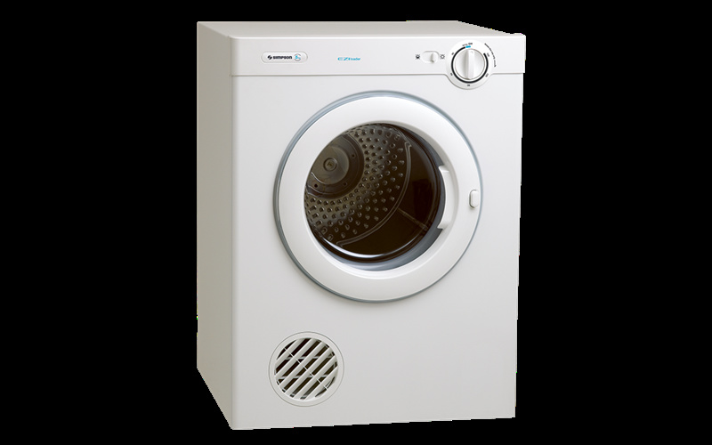Simpson Vented Dryer 5.0 Kg Reverse Tumble Stainless Drum