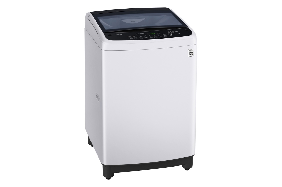 LG Top Load Washers 6.5Kg. Inverter Motor, White Finish, 3 Star Water, 2 Year WTY, 3-Motio WTG6520
