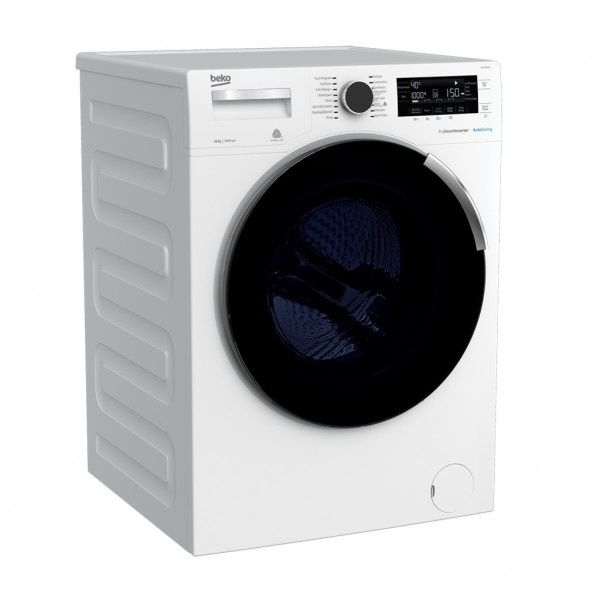 Beko Front Load Washers 10 kg 1400rpm white WM with NEW AutoDose Technology & Premium Design BFL103ADW