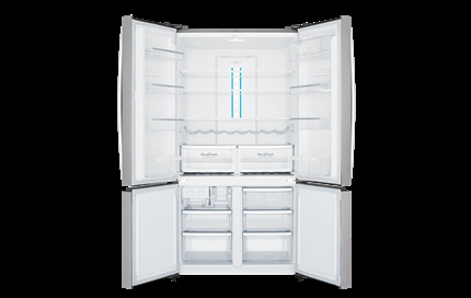 Factory Second Westinghouse French Door Fridge 600 ltr Quad Door French door fridge, WQE6000SAFSC