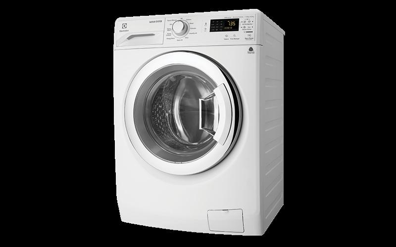 Electrolux Washer & Dryer Combos 7.5kg wash & 4.0kg dryer, 1200rpm spin EWW12753