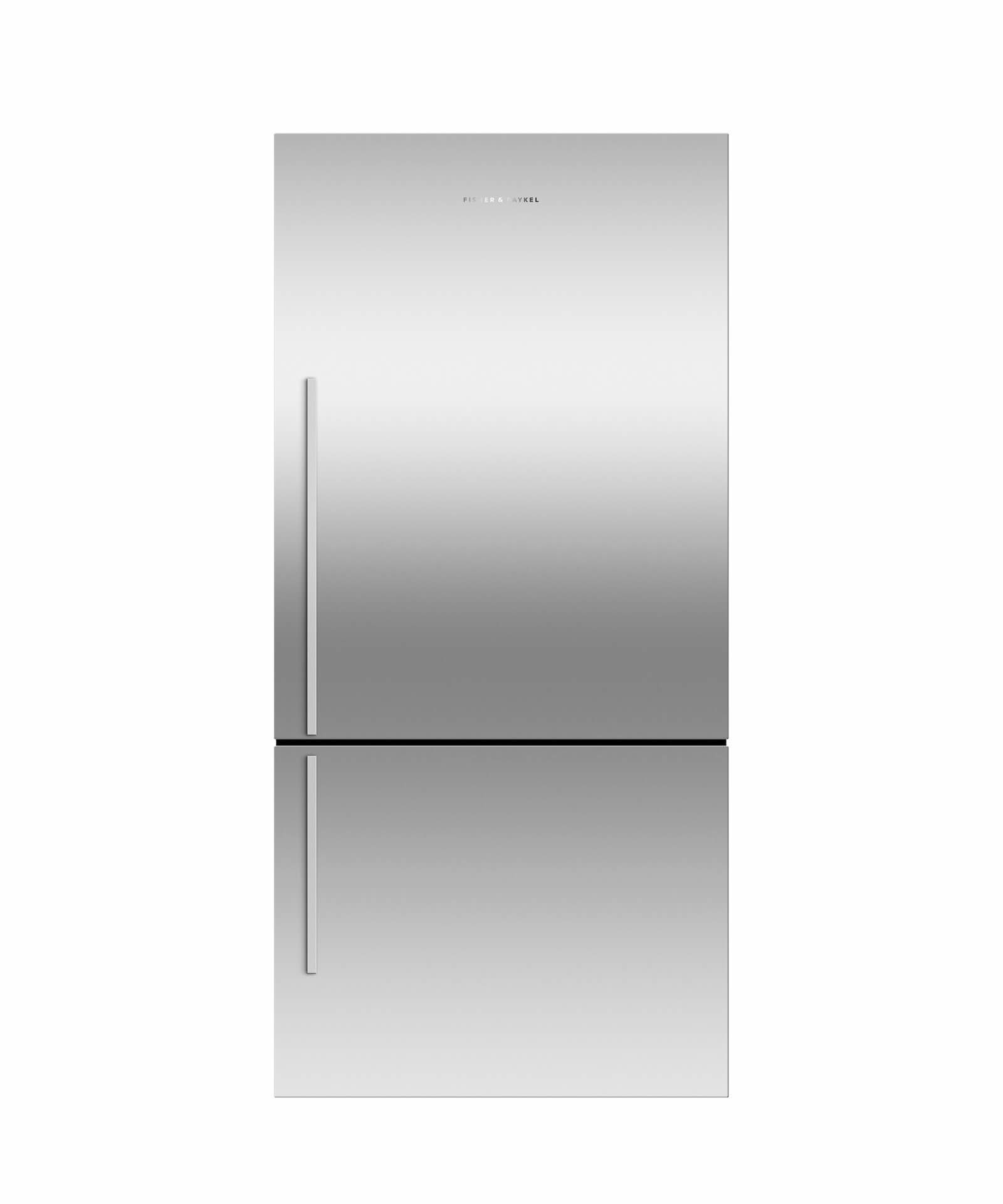 Fisher and Paykel Bottom Mount Fridges ActiveSmart Fridge - 790mm Bottom Freezer with Ice 519L - Right Hinge E522BRXFDJ5