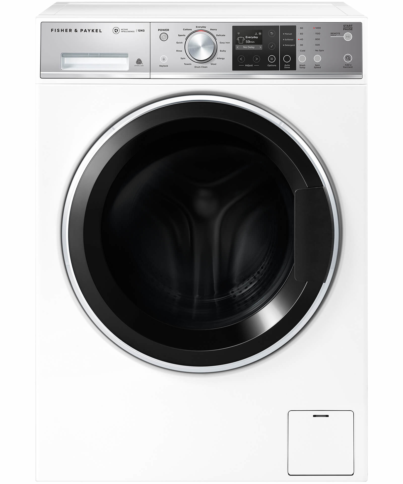 Fisher & Paykel 12 Kg Front Loader Washer (Factory Second)