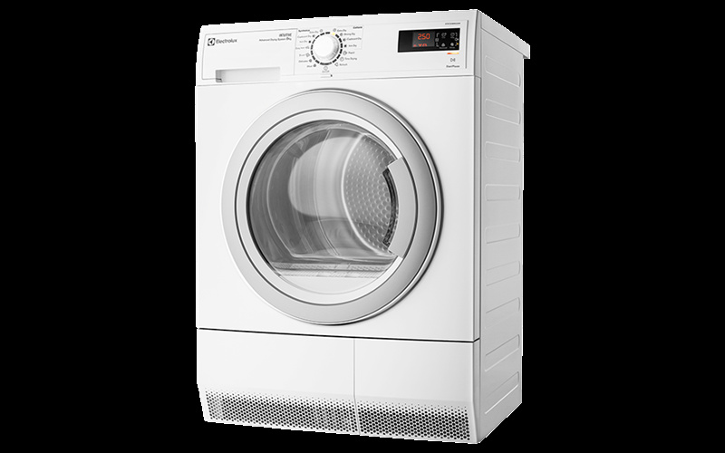 Factory Second Electrolux 8Kg Condensor Dryer Edc2086Gdw Fsb