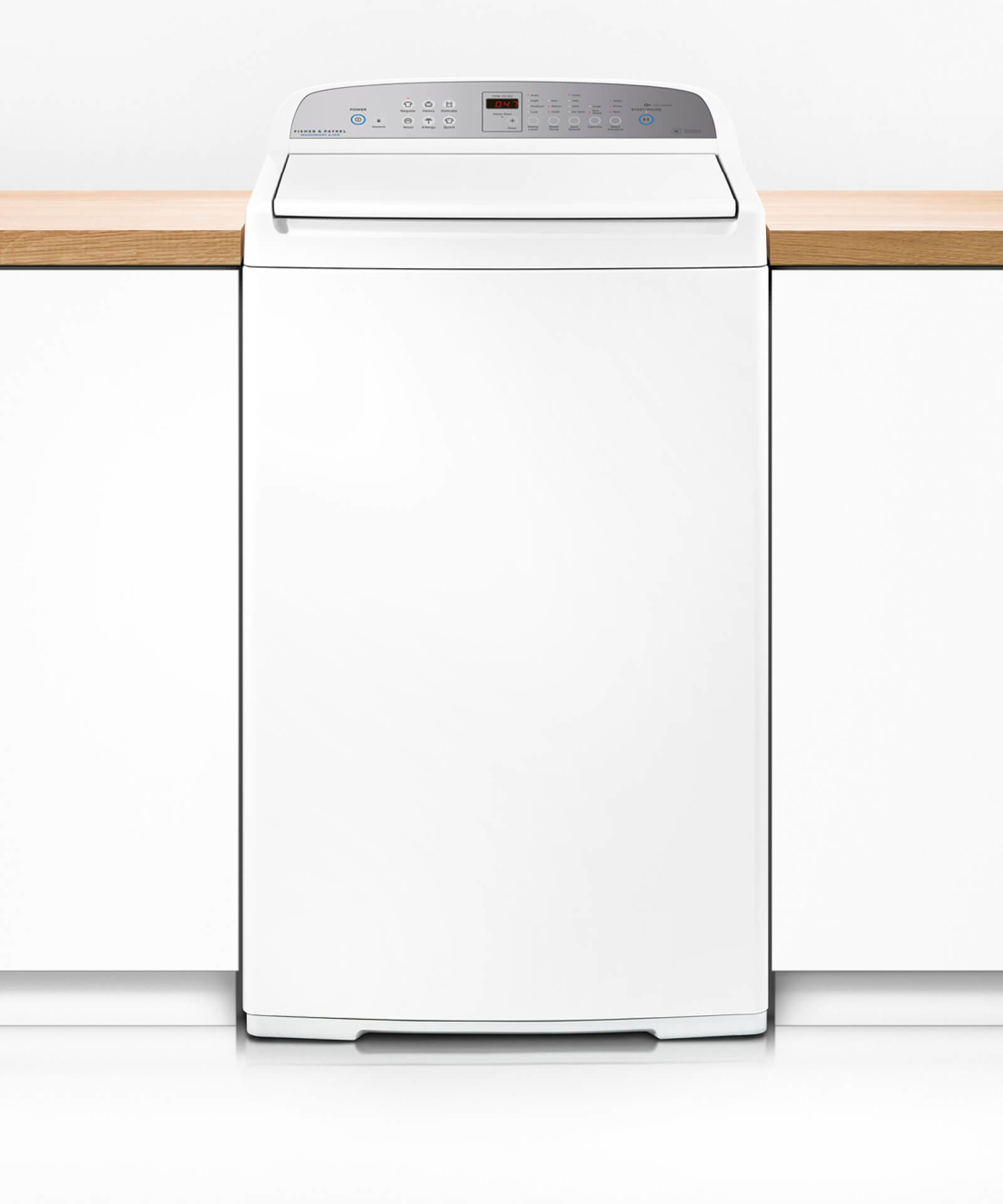 Fisher & Paykel TopLoad Washer 8.5Kg 1000Rpm 2.5 Star Energy 3.5 Star Wels 6 Wash (Factory Second)