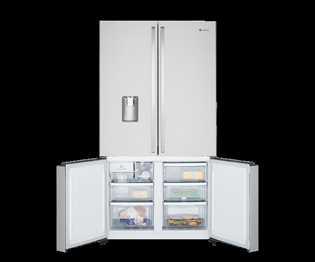 Factory Second Westinghouse French Door Fridges 600 Ltr 4D French Door Fridge Ice & Water WQE6060SA-FSB