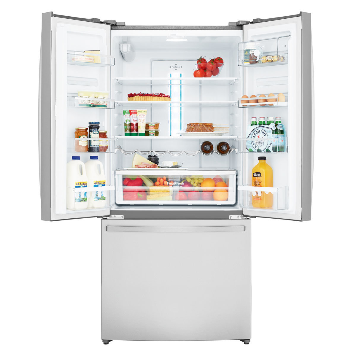 Westinghouse 524L Stainless French Door Fridge